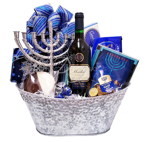 Eight Nights of Hanukkah Gift Basket