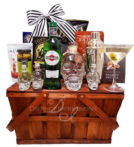 Crystal Head Vodka and Gourmet Gift Hamper