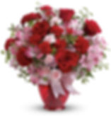 Red Rose Valentine's Day Floral Bouquet