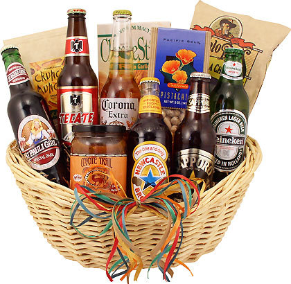 Around the World Brews for YOU Gift Basket