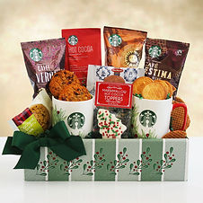 Holiday Starbucks and Cookies Gift for the Holidays