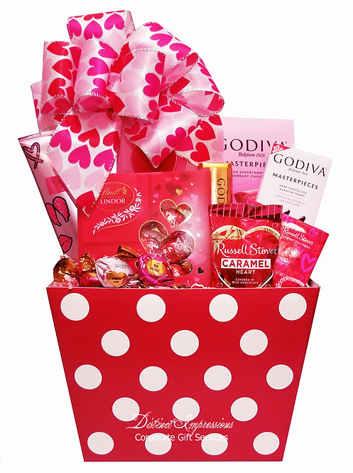 Sweets for my Sweetheart Gift Basket