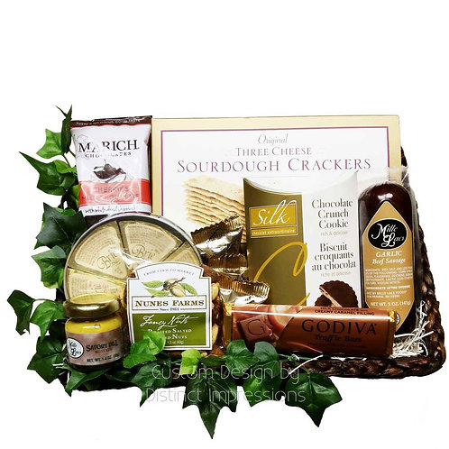 Delectable Gourmet Amenity Gift Basket