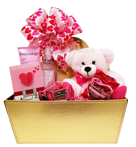 Spa and Chocolates - Valentine's Day Gift for Her