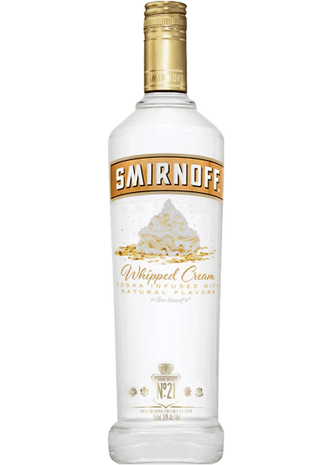 Smirnoff Flavored Vodka - Whipped Cream