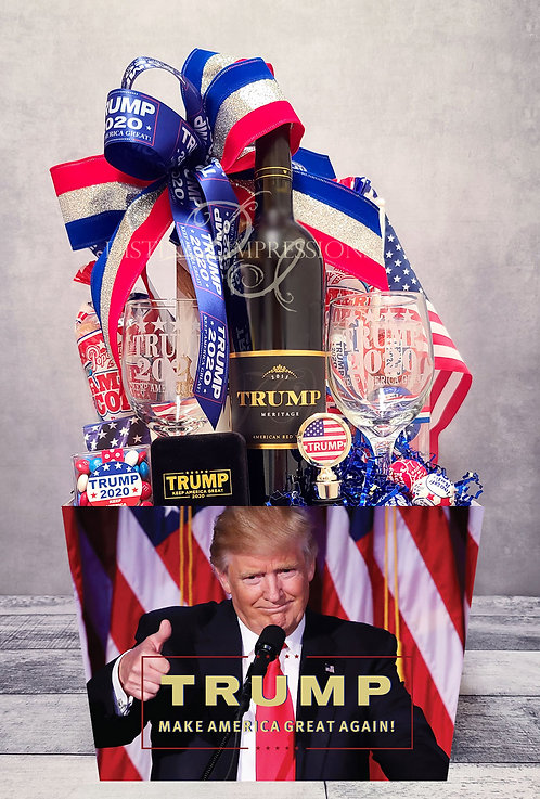 Trump MAGA - Trump Vineyards Meritage Wine Gift