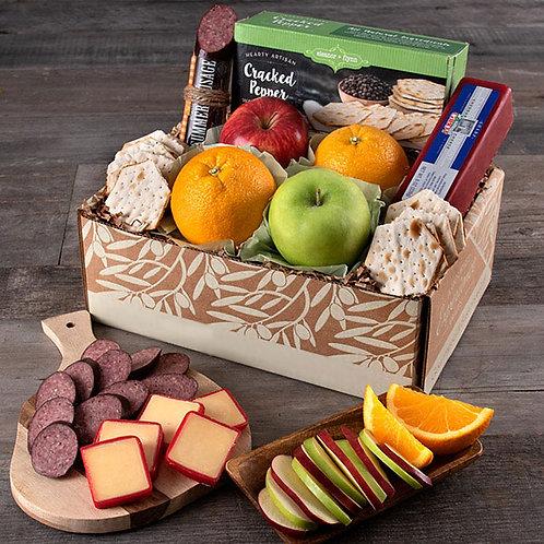 Fruitful Greetings Fresh Fruit and Snacks Gift