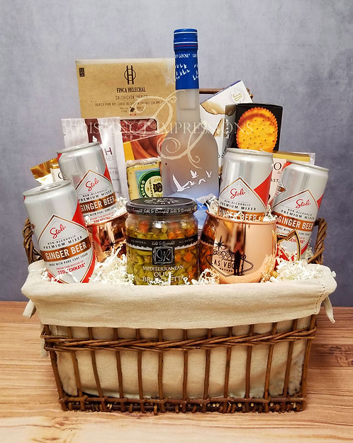 Grey Goose Vodka Moscow Mule Gift Basket