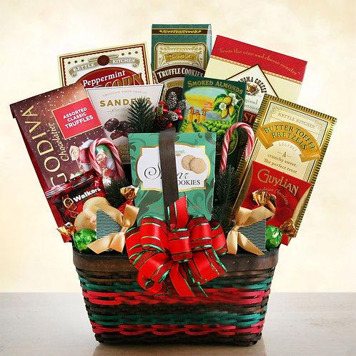 Seasons Greetings Gourmet Gift Basket