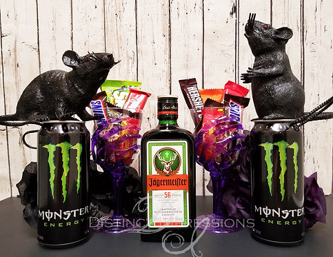 Jagermeister Monster and Candy Gift Box