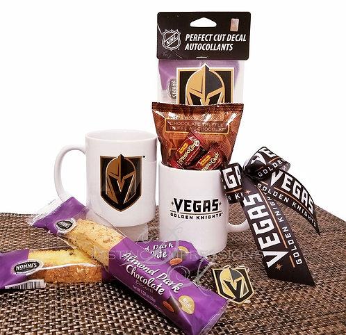 Las Vegas Golden Knights - Godiva Coffee and Mug Set