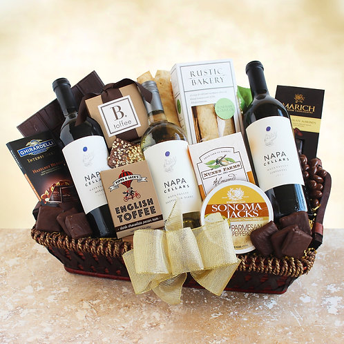 Gourmet Wine Gift Featuring NAPA Cellars