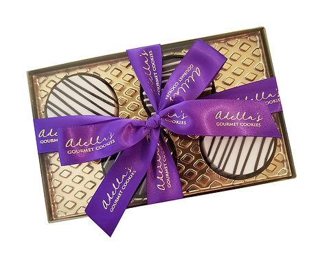 Adella's Gourmet Chocolate Oreo Cookies 4pc.