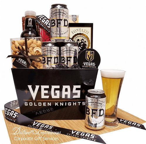 Vegas Golden Knights -  Beer Gift Basket
