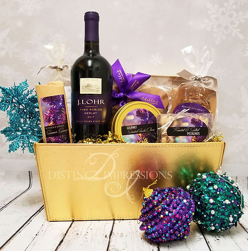 Holiday Royal Treatment Gourmet Gift Basket