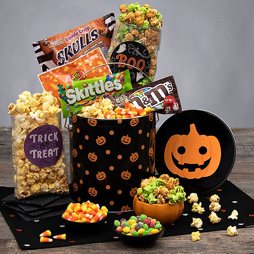 Kids Spooky Halloween Candy Gift Tin