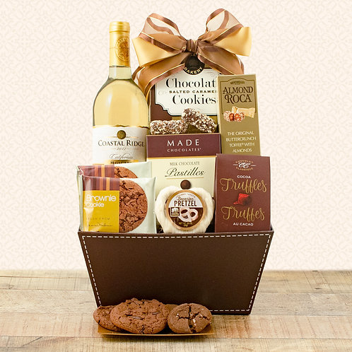 Moscato and Chocolates Gift Basket