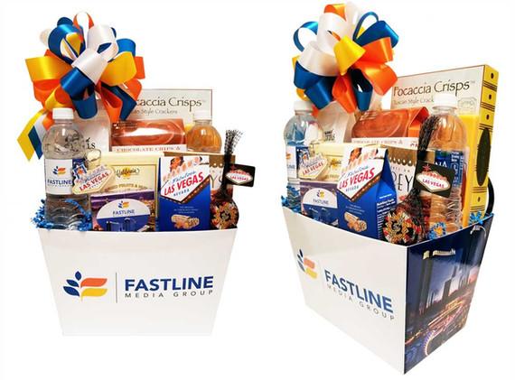 Fastline Media Gift Basket Box