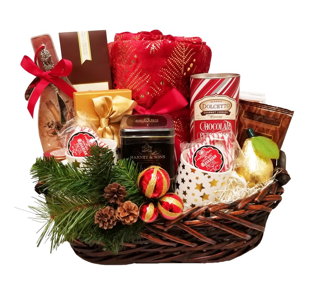 Custom Christmas Basket
