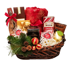 Custom Christmas Basket