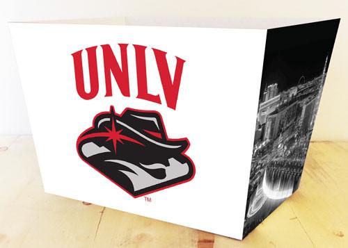 UNLV Rebels Gift Basket Box