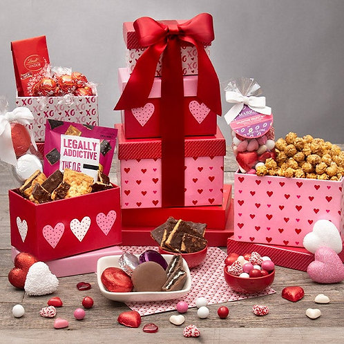 Straight From The Heart Gift Tower