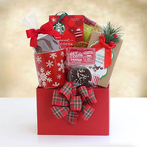 Christmas Morning with Starbucks Coffee Gift