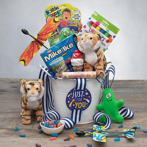 Just For You - Boys Gift Bucket