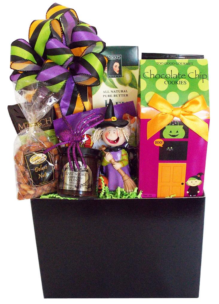 Custom Halloween Gift Basket