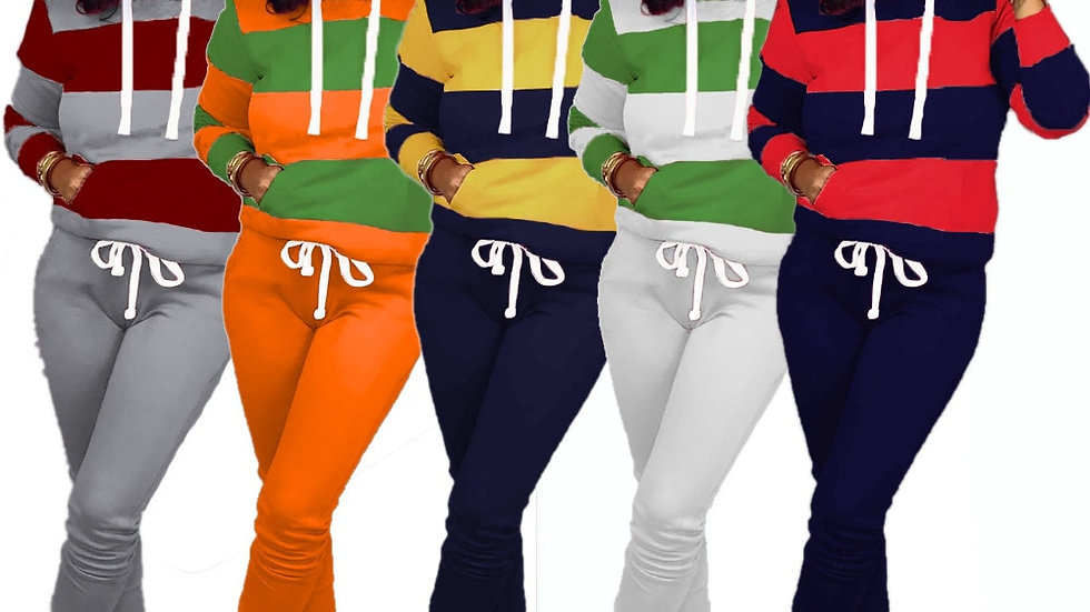2 TWO PIECE SET Women Hoodies Joggers Top and Pants Sweatsuits Jogging  Outfits