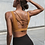 Thumbnail: Women Sexy v Collar Yoga Bra Back Cross  Design Sports Bra Woman Push Up Bra