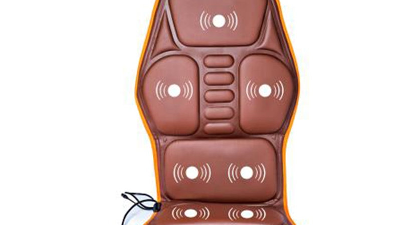 Full-Body Massage Cushion.Heat Vibrate Mattress.Back Neck Massage Chair  12v