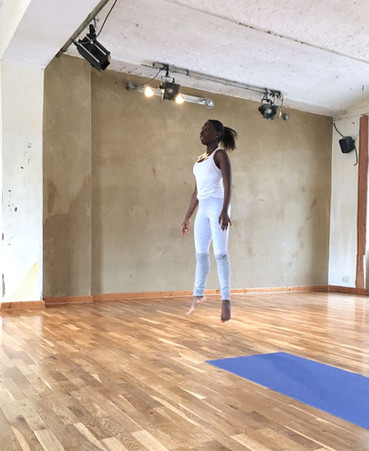 Angel cardio jumps