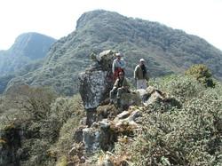 Cumbre en Portal de Piedra.