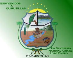 Cartel en centro interpretativo en Quirusillas (Bolivia).