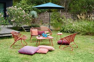 Sixties collection au jardin