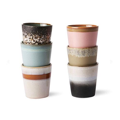 Ensemble 6 mugs ACE6750 - HK Living