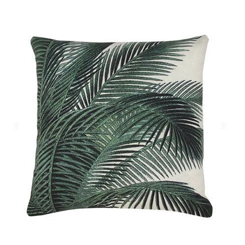 Coussin Palm leaves - HK Living