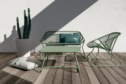 La collection Sixties en cactus