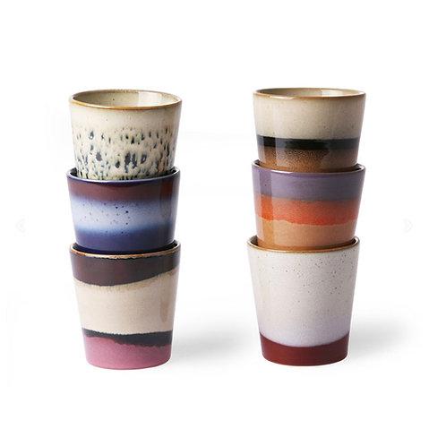 Ensemble 6 mugs ACE6857 - HK Living