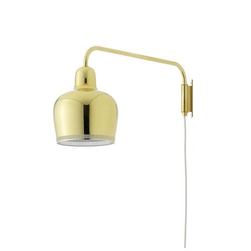 """Lampe murale A330S """"Golden bell"""" - Artek"""