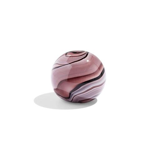 """Boule en verre colorée presse papier """"Purple""""- Hay"""