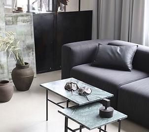 Bruunmunch - The pump sofa - coffee tabl