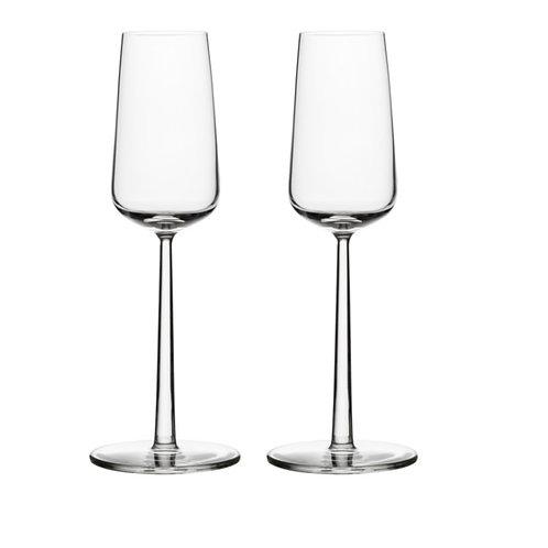 """Set de 2 coupes à champagne """"Essence"""" - Iittala"""