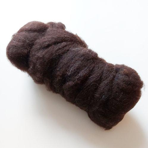 Jacob's Sheep sliver in natural black