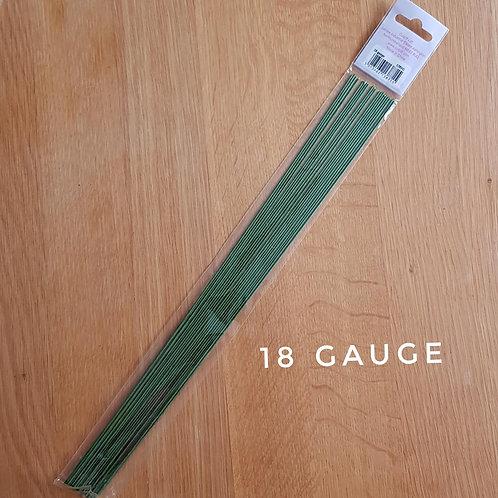 18 gauge florist wire - pack of 20