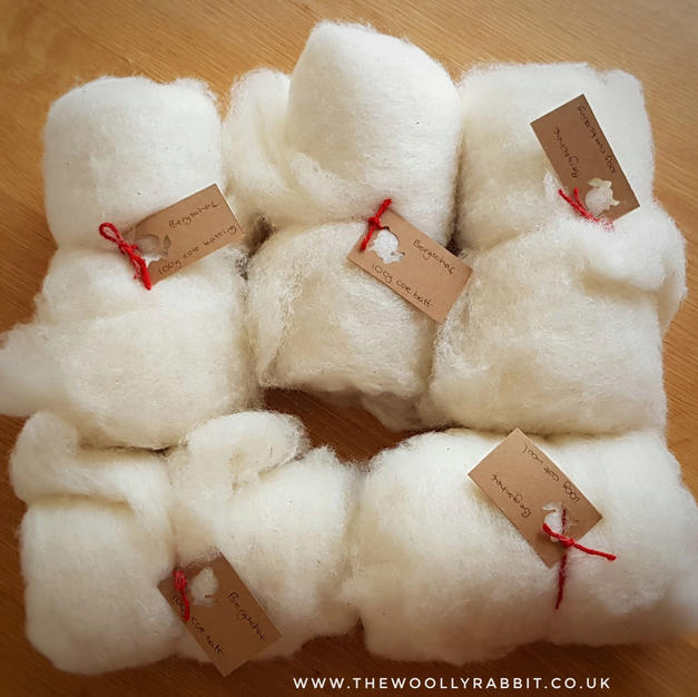 Natural undyed wool (core wool)