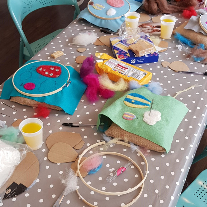 Children's balloon workshop