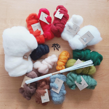 Christmas Bumper pack carded wools
