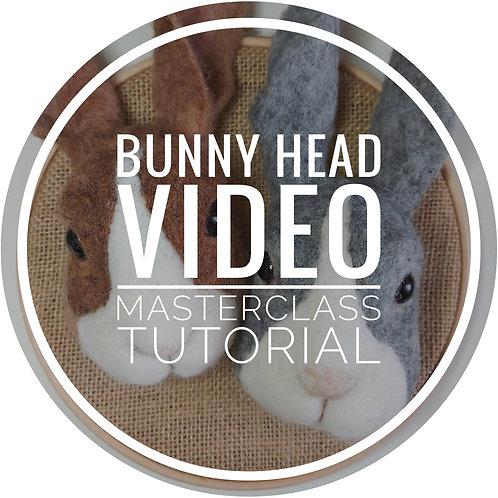 Bunny Head Video Master Class Tutorial